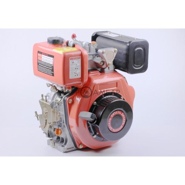 Двигатель 178F - (под шлицы Ø25мм) (6 л.с.)