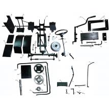 Модули переоборудования мотоблока в минитрактор
