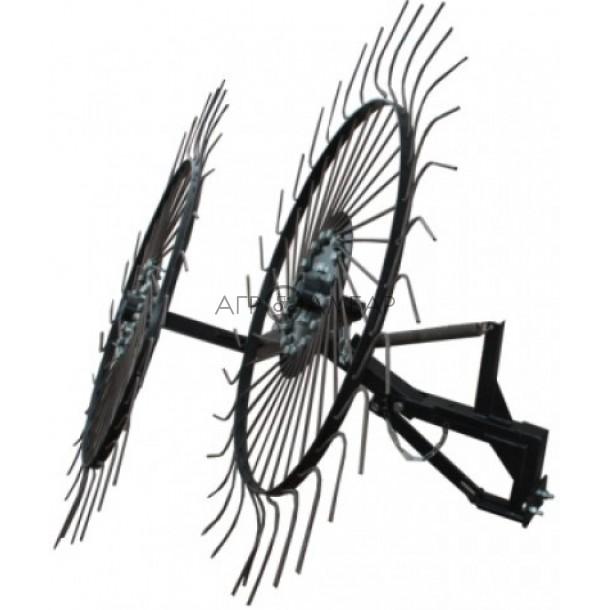 Грабли-ворошилки Солнышко 2-х колёсные (Полтава)