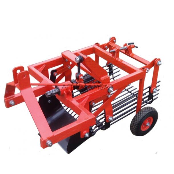 Картофелекопалка тракторная вибрационная (для минитрактора) (Шип)