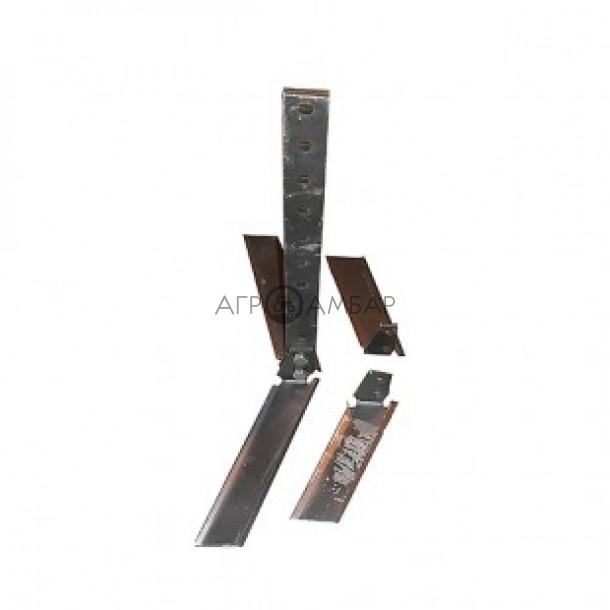 Плоскорез-пропольник для мотоблока универсальный, со сменными ножами