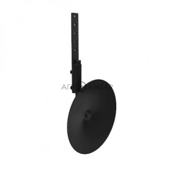 Диск окучника 380 мм со стойкой