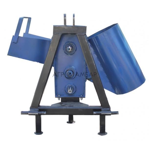 Измельчитель веток с приводом от минитрактора (двухсторонняя заточка) (Полтава)