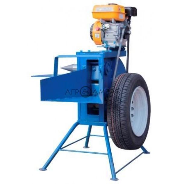 Измельчитель веток с дровоколом под бензиновый двигатель (без конуса, односторонняя заточка) (Полтава)