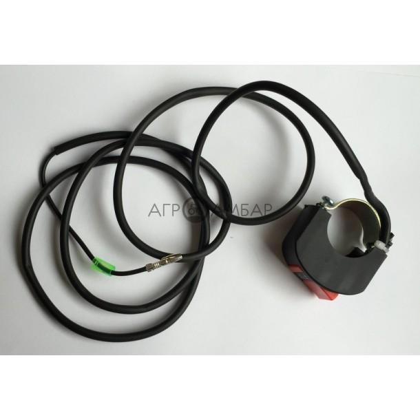 Тумблер выключателя двигателя (на руле) (168F/170F)