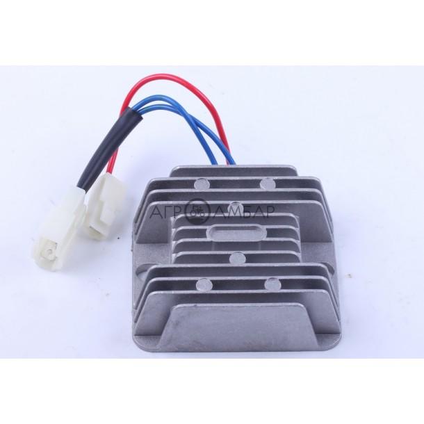 Реле зарядки (2 разъема 3 провода) (178F/186F)