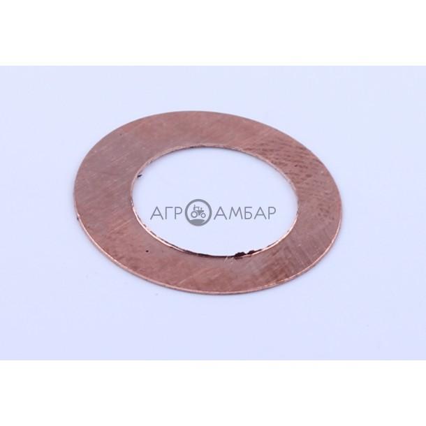 Шайба форсунки уплотнителя(медная) (178F/186F)