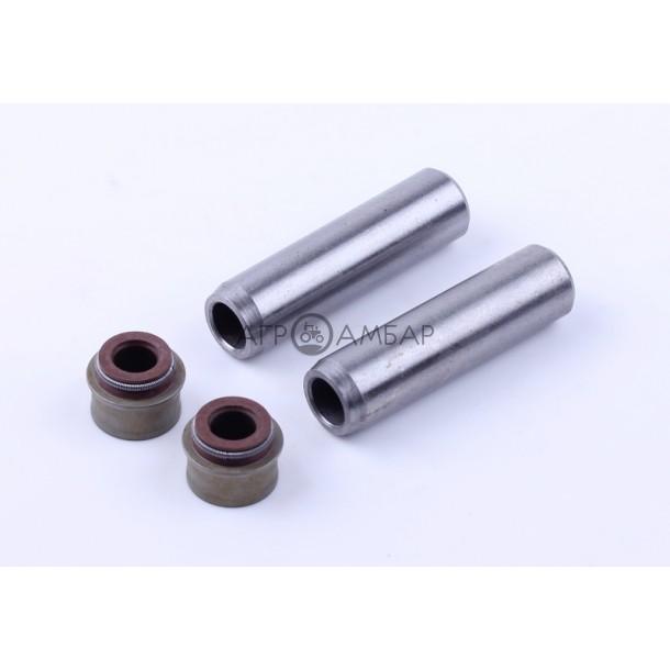 Направляющие клапанов с сальниками (на 2 кл.) (186F)