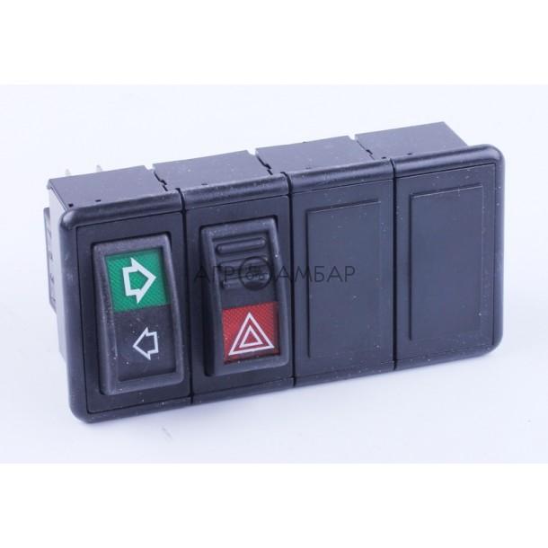 Переключатели приборной доски правые (Foton 354/404) ( FT300.48D.2.4 )
