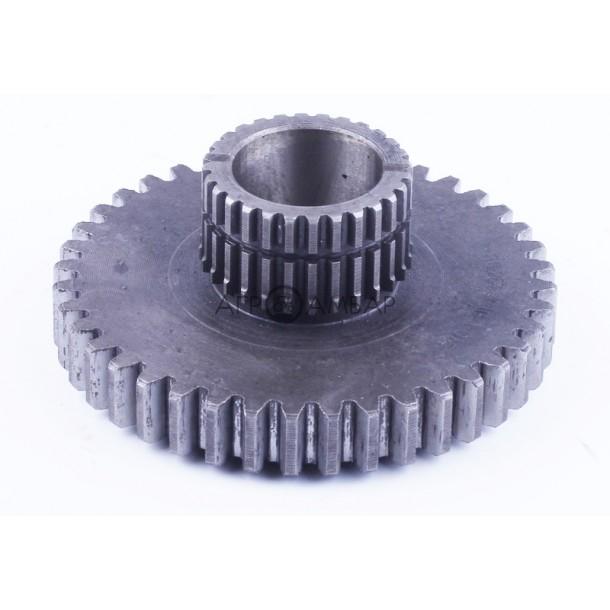 Шестерня приводная раздаточной коробки Z-28/40 (Foton 244, ДТЗ 244, Jinma 244/264) ( FT254.42F.104 )