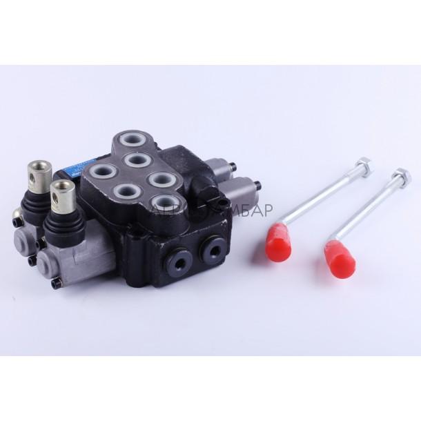 Кран гидравлический двухкамерный (мототрактор)