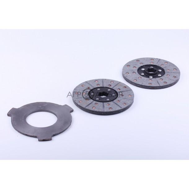 Диски сцепления комплект (сцепление) (Мототрактор)