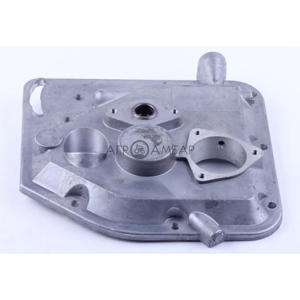 Крышка блока двигателя (картера) (короткая алюминиевая) (R175/R180)
