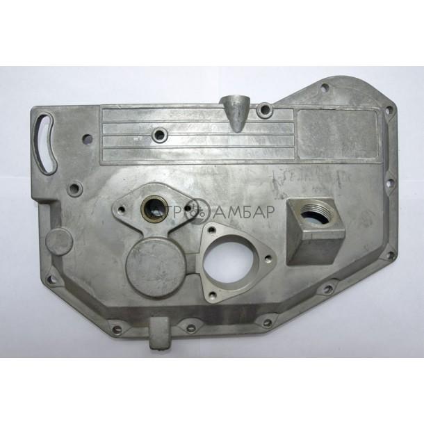 Крышка блока двигателя (длинная) (алюминиевая) (R175/R180)