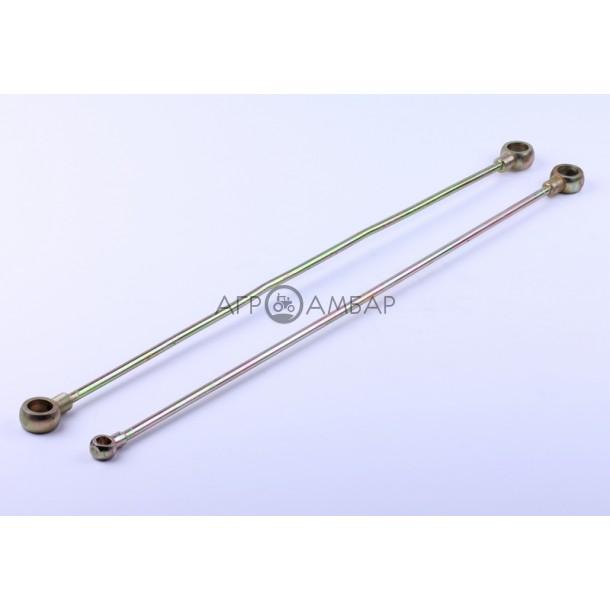 Масляные патрубки металлические (пара) (R190)