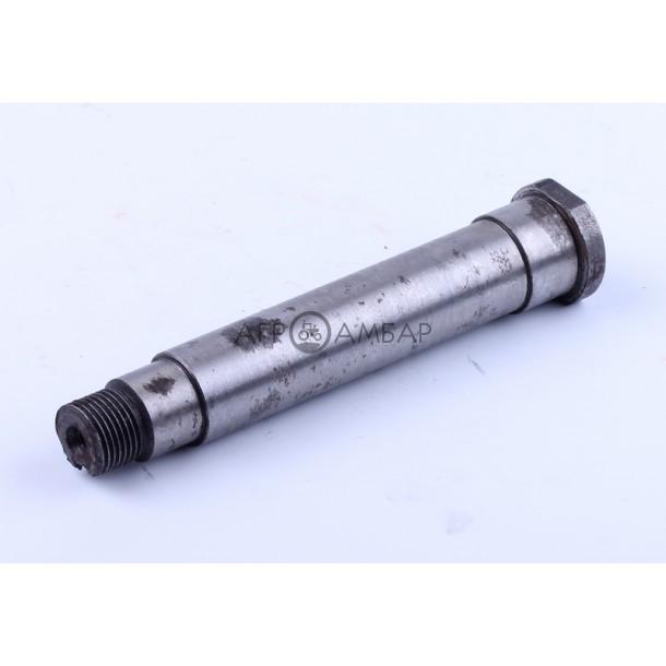 Вал шестерни неподвижной дополнительной передачи L-143mm (Xingtai 120/220) ( 10T.37.120 )